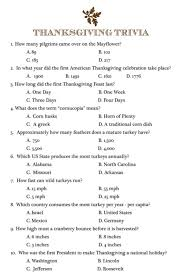 prettie thanksgiving trivia thanksgiving