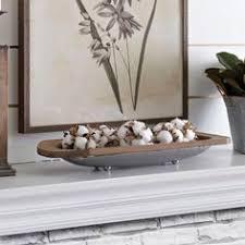 long galvanized metal decorative tray decorative trays