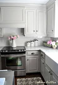 small kitchen grey cabinets 15 grey kitchen cabinet makeover ideas godiygo