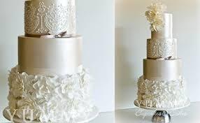 wedding cake tutorial ruffle wedding cakes petal ruffles cake magazine