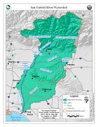 Los Angeles River Map by State Water Resources Control Board Los Angeles