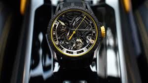 Lamborghini Aventador Accessories - roger dubuis a watch inspired by the lamborghini aventador