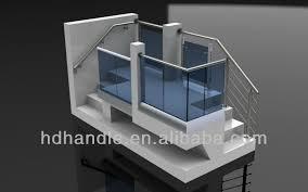 Banister Fittings Glass Balustrade Handrail Fittings Hd L001 Buy Glass Balustrade
