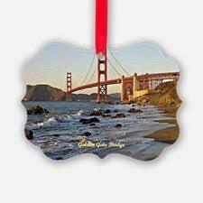 golden gate bridge san francisco mini blown glass