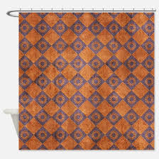 Rust Color Curtains Rust Color Shower Curtains Cafepress