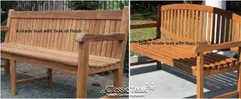 Grade A Teak Patio Furniture by Why Grade A Teak