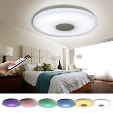 Bilder Schlafzimmer Amazon Natsen Led Deckenlampe 24w Rgb Voll Dimmbar X809 Mit