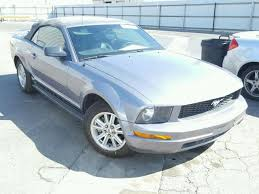 mustang 2006 for sale 1zvft84n665189977 2006 charcoal ford mustang on sale in ca