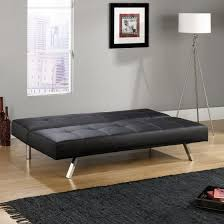 Sofa Bed Collection Cooper Sofa Convertible In Black Finish