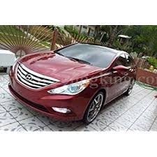 difference between hyundai sonata gls and se amazon com 2011 2013 hyundai sonata chrome grille grill insert