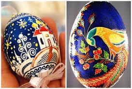 wax easter egg decorating treasures pysanki easter eggs as masterpieces
