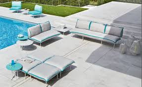 modern outdoor furniture wicker attractive and playful modern