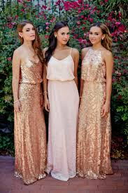 coral and gold bridesmaid dresses pink sequin bridesmaid dresses fashion dresses