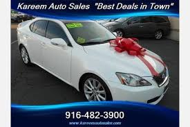 lexus is 250 used cars for sale used lexus is 250 for sale in sacramento ca edmunds
