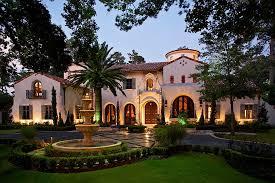 style mansions opulent mediterranean style mansion in
