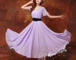 light purple long dress light purple dress etsy