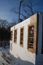 progress report passive house in the woods
