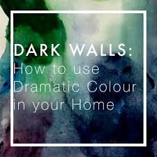 Dark Walls Dark Walls How To Use Dramatic Colour In Your Home U2014 Katie Charleson