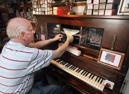 player piano roll cabinet fascination with player pianos keeps engels busy for decades