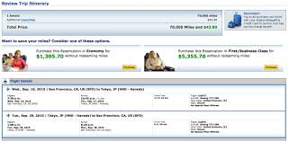 booking united u0026 jal flights with amex mr points the derp report