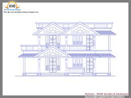 drawings of house plans in kerala house plan