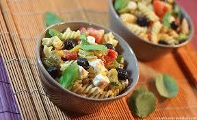 recettes cuisine grecque salade de pâtes à la grecque
