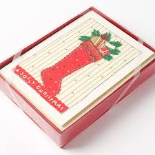 boxed christmas cards bust of let s express your feeling and the christmas