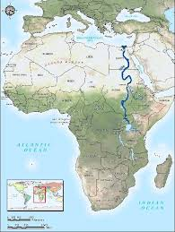parana river map where does the nile river start and end map