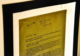 after dispute lyndon b johnson u0027s letter to martin luther king