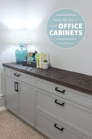 Wall Cabinets For Home Office Best 25 Office Cabinets Ideas On Pinterest Small Office Desk