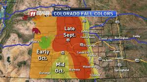 Foliage Map Where And When To See Fall Foliage Denver Co Real Estate