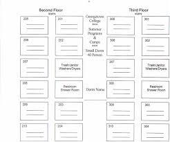 Dormitory Floor Plans by Summer Programs U0026 Camps Small Dorm Floor Plan
