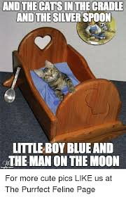 Silver Spoon Meme - and the cats in the cradle and the silver spoon little boy blue and