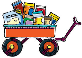 thanksgiving food drive clip library