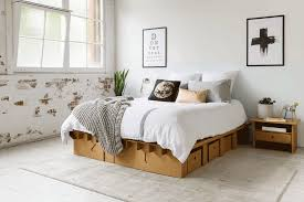 Bed Frame Furniture Karton S Cardboard Furniture Is Stylish Durable And Affordable