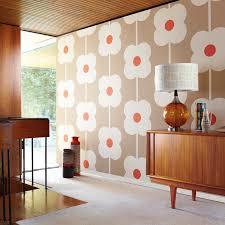Flower Wallpaper Home Decor Ravishing Home Living Room In Apartment Wall Design Ideas Present