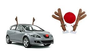 reindeer car reindeer car accessory set 3pc groupon goods