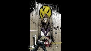 watchmen dc comics rorschach black background wallpaper