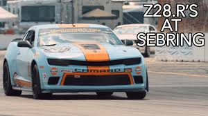 2014 Camaro Harness Bar Racing The Camaro Z28 R At Sebring Mantella Autosport Youtube