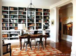 bookshelves in dining room bookshelves in dining room home office with built in bookcases built