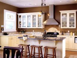 Wall Kitchen Cabinets With Glass Doors Kitchen Cabinets With Glass Doors Kitchen Colors With Off White