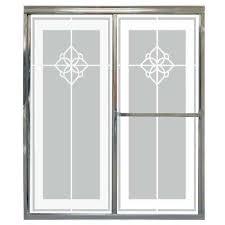 home depot shower glass doors etched shower doors showers the home depot