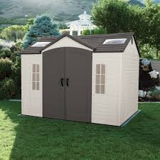 decor 6x8 plastic backyard sheds costco with waterproof and
