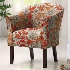 chair accent chairs joss main orange chair margotarm orange accent