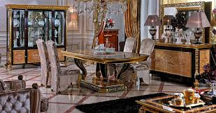 Italian Dining Room Sets Classic Italian Dining Room Furniture With Luxury Flooring Design