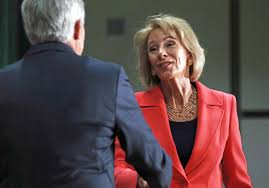 betsy devos signals shift in federal guidelines for investigating
