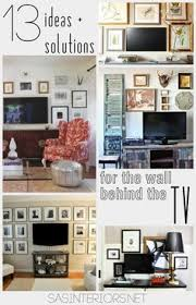 ideas to decorate walls how to decorate around a tv an option for every style wall ideas
