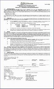 agreement purchase agreement template