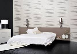 bedroom wallpaper ideas grey and white feature modern for walls