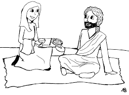 mary and martha coloring pages and page creativemove me